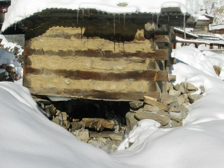 Watermill at chitkul