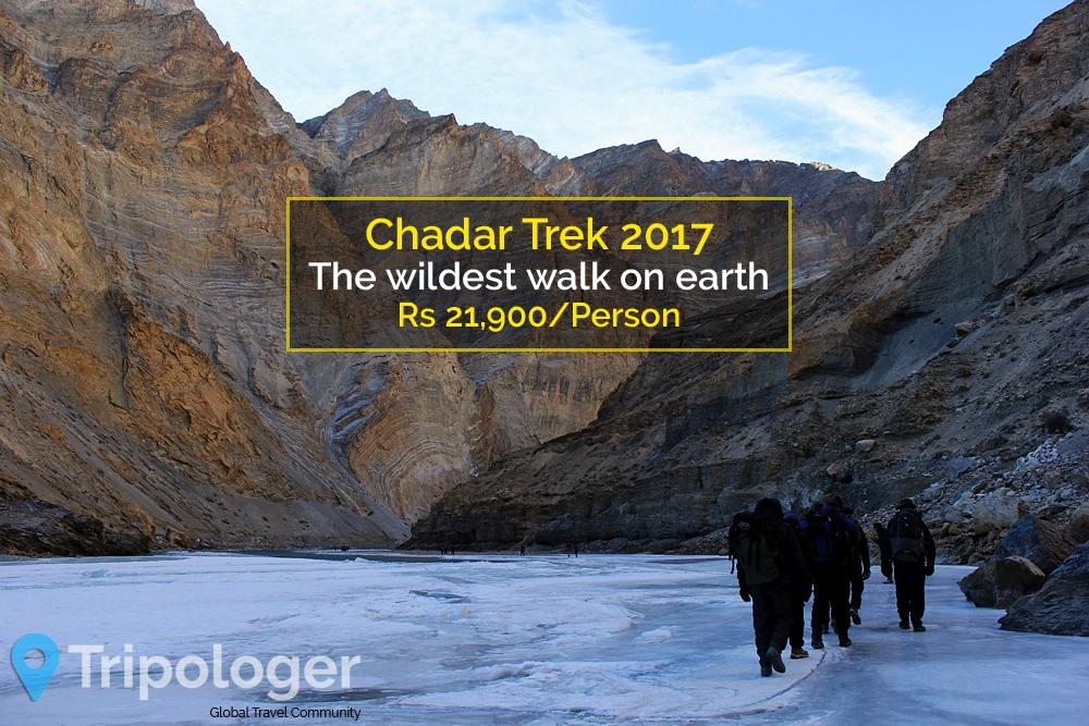 Frozen Zanskar Chader Trek 2017