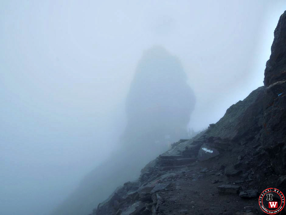 View of Shrikhand Mahadev