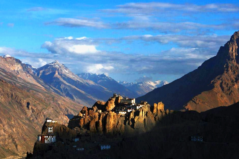Dhankar Monastery , Spiti