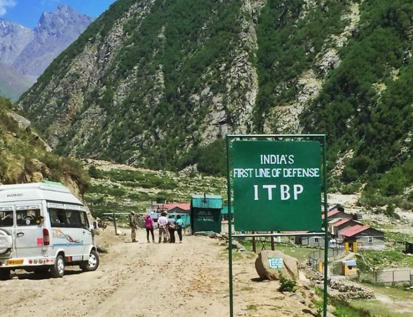 ITBP camp in Chitkul
