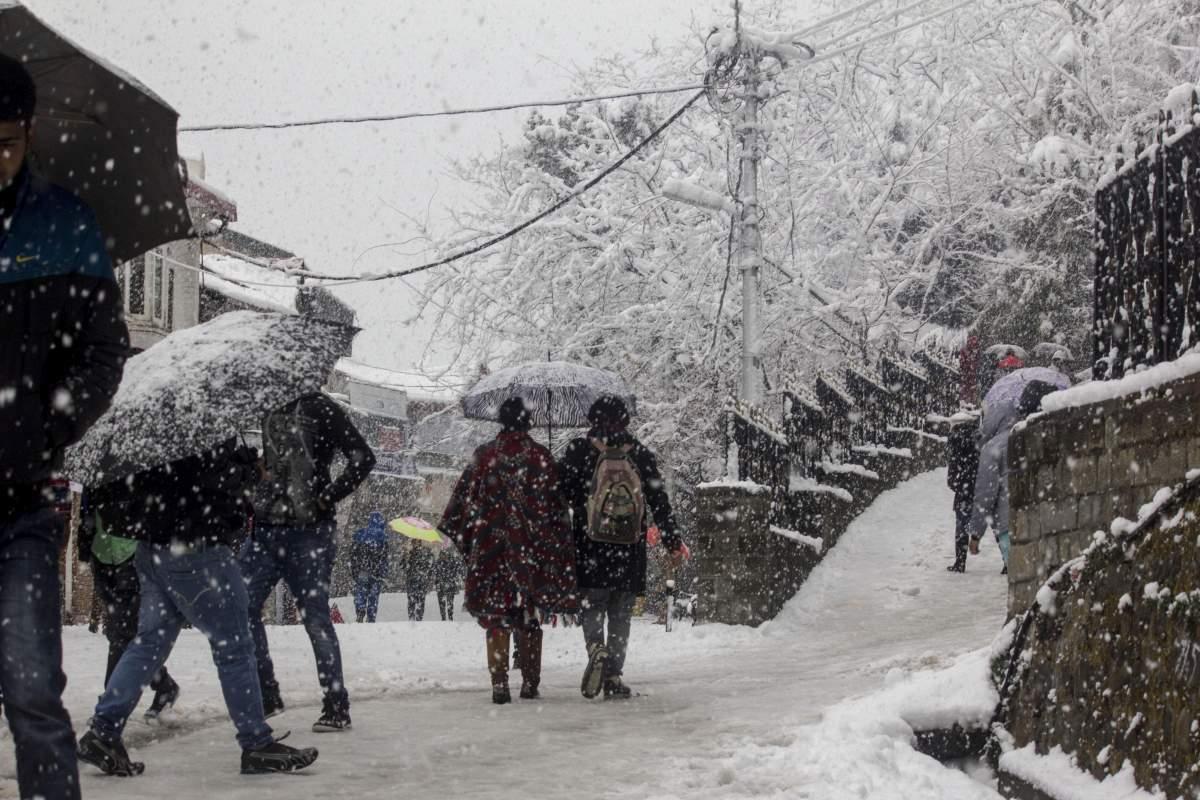 Shimla Snowfall 2016