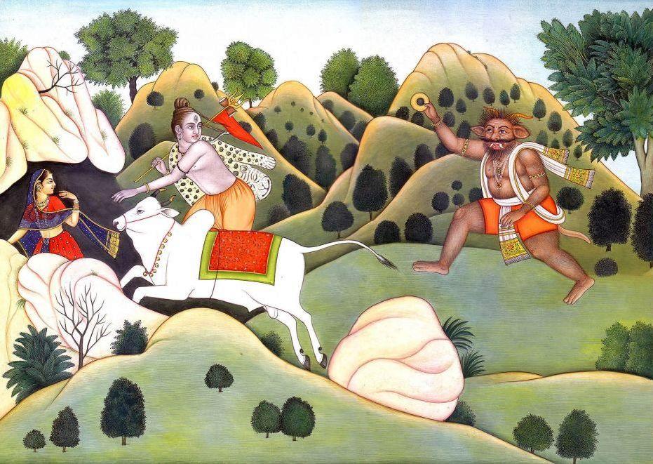 bhasmasura-chasing-lord-shiva