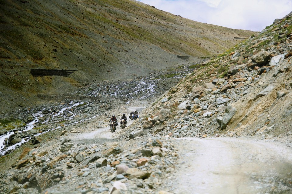 Bikers in Spiti Valley