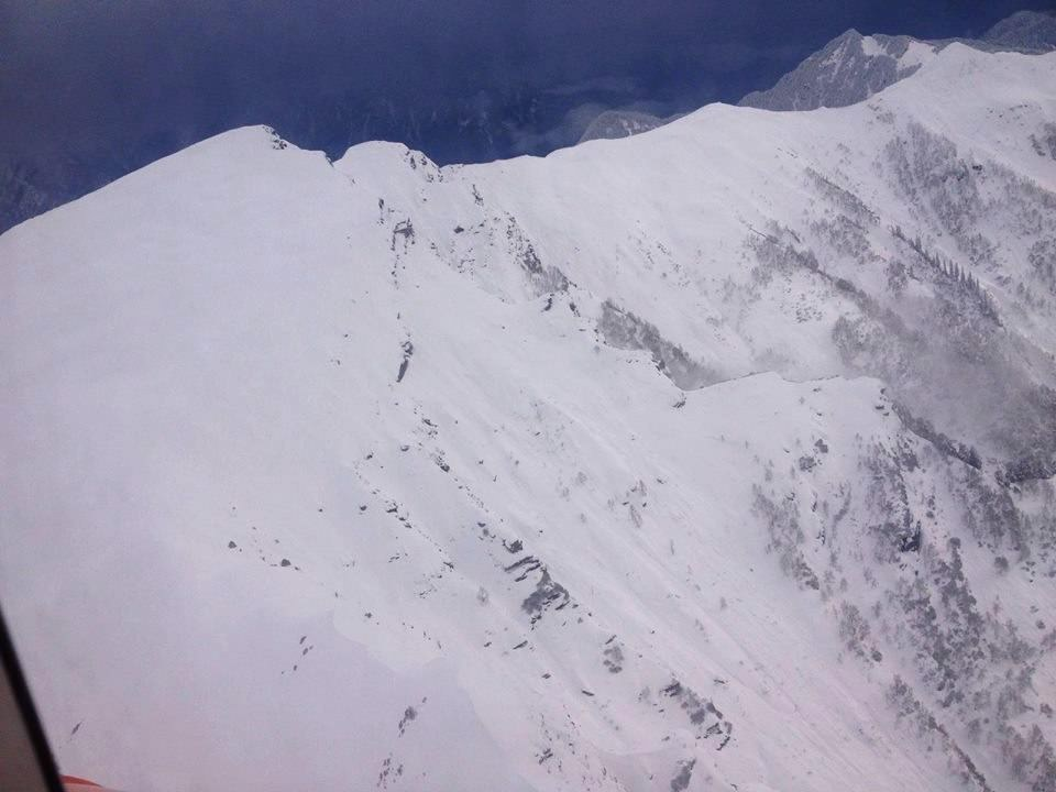 Chanderkhani Pass - View from helicopter