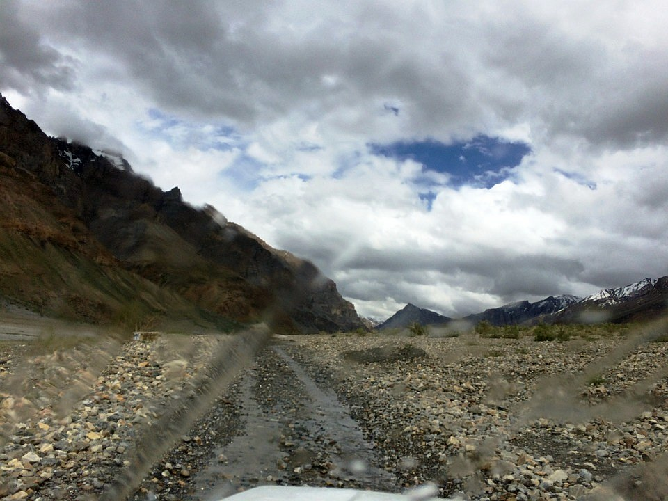 Driving into the heart of the Spiti Valley