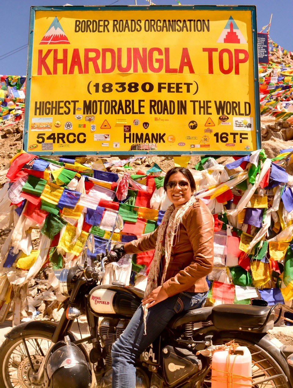Khardung La - highest motorable road in the world