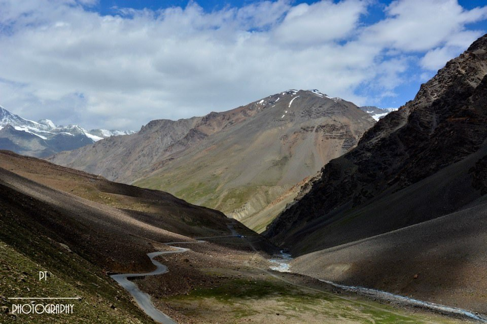 Leh Ladakh bike trip - beautiful road