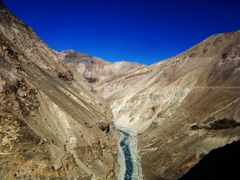 Majestic Himalayan roads