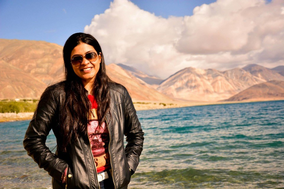 Me at Pangong Lake