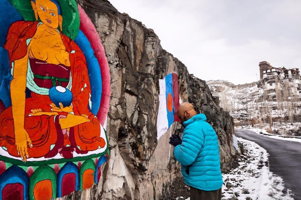 Shantanu Moitra in Ladakh