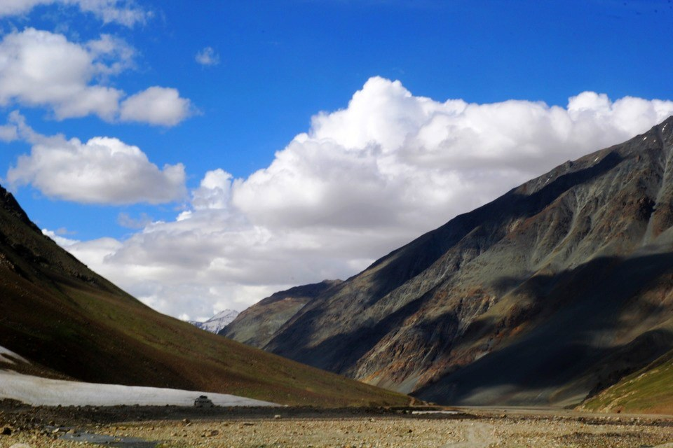 Contrasting landscapes of Spiti Valley