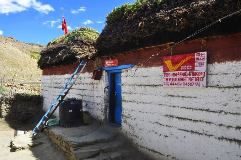 Worlds Highest Post Office at Hikkim
