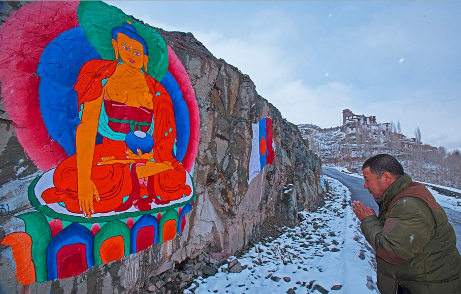 art work in Ladakh