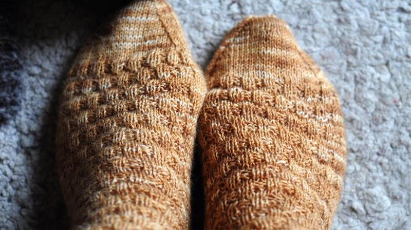 warm feet in sleeping bag