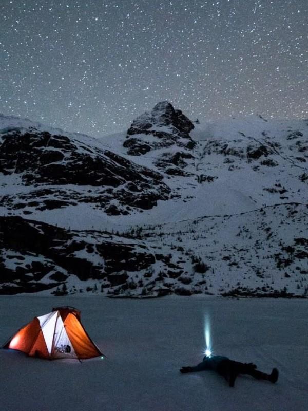 winter camping chadar trek