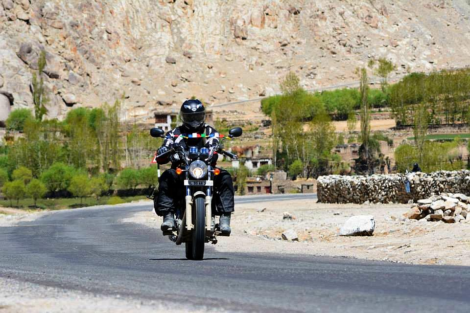 En route to Pangong Tso