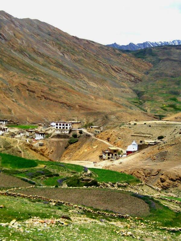 Kibber Village, Spiti