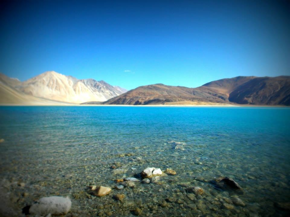 Pangong Tso in its full glory