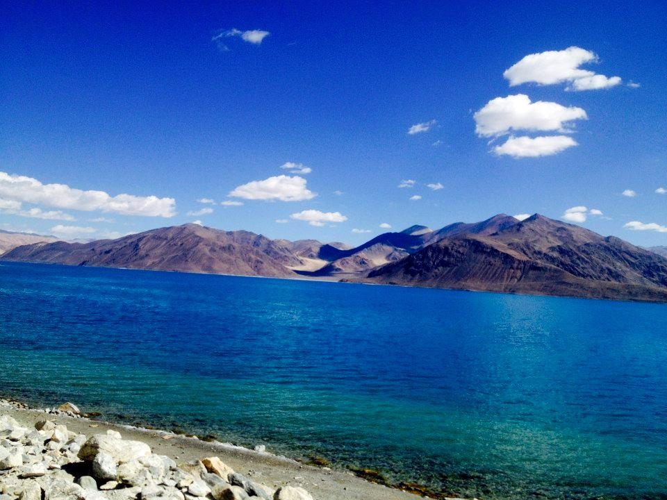 Pangong Tso in one of its avatars